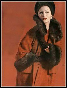 Flickr Isabella Albonico Vogue September 1960