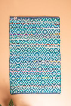 Blue Upcycled Handloom Rug Made From Old Satin Coat Linings Blue Upcycled Handloom Rug Made From Old Satin Coat Linings Measurements: x Maker Pro State Insurance, Satin Coat, Recycled Fabric, Reading Nook, Rug Making, Fabric Material, Upcycle, Recycling, Traditional