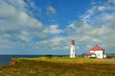 500px / Lighthouse in Magdalena Island, Canada by Christian Duguay