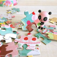 Sweet Life: Playing with Sweet Treats Puzzle