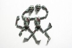 3D Magnetic Zombies $14.95 - #magnets #zombies