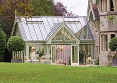 Victorian Conservatory via valegardenhouses.co.uk