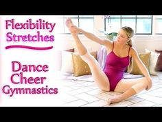 The Splits Stretch Routine - How To Do The Splits Flexibility Training Beginners Exercises Workout - YouTube