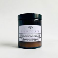 The Limerick Lace Candle   The Irish Chandler