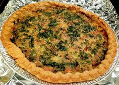 Lindsey's Luscious: Fall (unofficially) begins...with a savory tart! Kale and Sausage Quiche