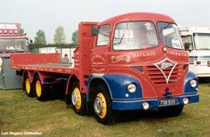 Foden S21. Geoff Dunn and Son. This early 1960's restored Foden can often be seen on the Truck Rally circuit. The truck was seen at Peterborough in 2003.