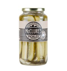 Crunchy and fresh with a strong, sour taste, complimented by notes of garlic and dill.