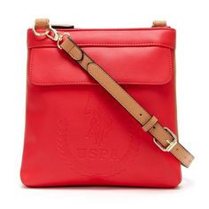 0b4c25fd35 U.S. Polo Assn. Billy Double Entry Crossbody Handbag