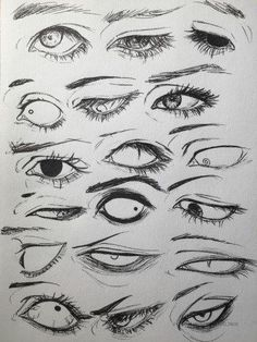 Drawings, Manga, Anime, Eyes, 18 designs to enhance your drawing - art - Drawings Manga Anime Eyes 18 designs to enhance your drawing - Drawing Reference Poses, Drawing Poses, Drawing Tips, Drawing Sketches, Art Drawings, Drawing Ideas, Eye Sketch, Hand Reference, Drawings Of Eyes