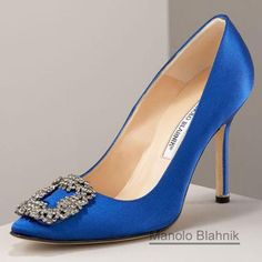 "My dream ""Something Blue"" Wedding shoe!"