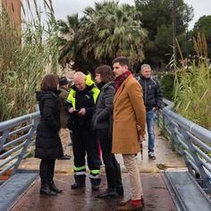 Comprovant els efectes del temporal de pluges a la ciutat.   http://www.josemanuelprieto.es