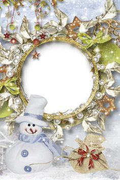 Collection of frames - Let the New Year is knocking for you