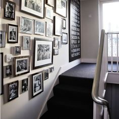 Picture perfect hallway | Silver paint | Hallway design | Image | Housetohome