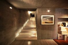 for an entrance to basement. Atalaya House / Alberto Kalach