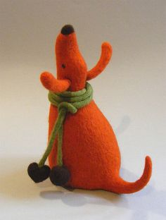 More needle felting....
