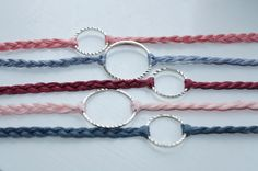 Diy crafts for teen girls to make simple 61 Ideas … - DIY Schmuck Ideen Making Friendship Bracelets, Diy Bracelets Easy, Dainty Bracelets, Bracelet Making, Jewelry Making, Braided Bracelets, Handmade Bracelets, Diy Crafts For Teen Girls, Diy Projects For Teens