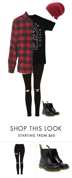 """Untitled #55"" by ejeffrey3 on Polyvore featuring Topshop, Dr. Martens and Coal"