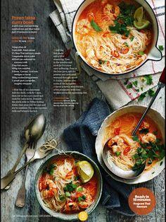 Prawn laksa curry bowl