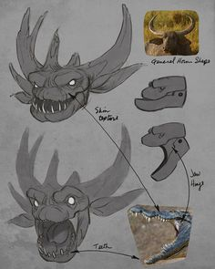 Concept Art & Character Designs by animator & director Aaron Blaise. A…