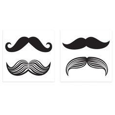 Mustache Tattoos
