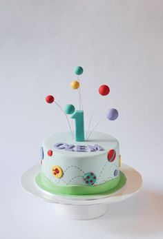 Bouncy Ball Cake