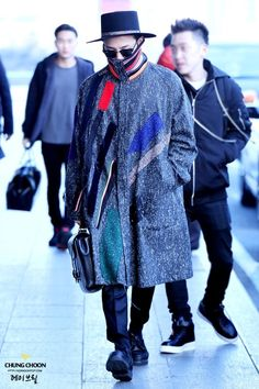G-Dragon airport 2015
