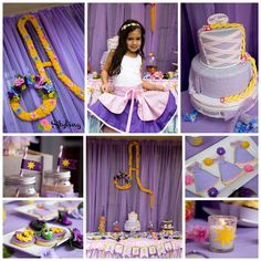 Rapunzel / Tangled Birthday Party Ideas | Photo 7 of 51