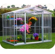Duramax 80111 8x6 Greenhouse Kit