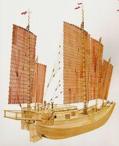 """sha-ch'uan or sand boat: a """"whaleback"""" Chinese Junk"""