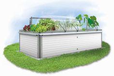 Mischkultur im Hochbeet Outdoor Furniture, Outdoor Decor, Outdoor Storage, Landscape Design, Urban Gardening, Home Decor, Kitchen, Companion Planting, Backyard Landscaping