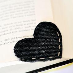 Como fazer um marcador de livros romântico