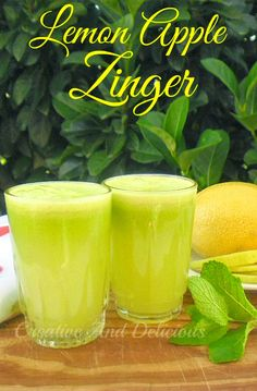 Lemon Apple Zinger