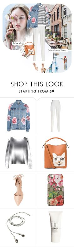 """""""philocaly"""" by ladysnape ❤ liked on Polyvore featuring Topshop, Giambattista Valli, Wood Wood, Loewe, Ava & Aiden, Gucci, BOBBY, H&M and NYX"""