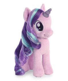 Another great find on #zulily! My Little Pony Starlight Glimmer Plush #zulilyfinds