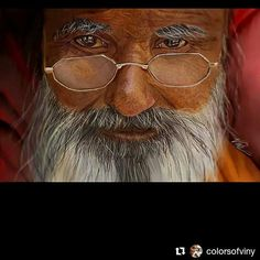 Another one of my fav pieces.. wanna know his little secret look into his eyes.. Hence aptly named nostalgia.. referenced from a photograph this piece is again from the scratch no textures no pre-made pics. :) Corel painter and wacom intuos pro  #nostalgia #indian #guru #swami #wiseoldman #painting #wacomintous #corelpainter3 #digitalart #digitalpainting #illustration #hyperrealisimart #drawing #painting #oldman #memories #emotiondrawing #fantasyart #redandbrowns #colorsofviny #portrait…