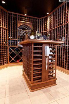 Nice wine cellar...those racks look lonely :)