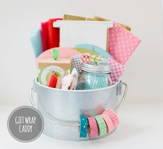 25 Ways To Organize Your Gift Wrapping   A $250 Organize.com Gift Card Giveaway