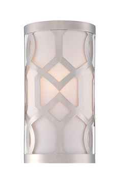 THE WELL APPOINTED HOUSE - Luxuries for the Home - THE WELL APPOINTED HOME One Light Polished Nickel Wall Sconce