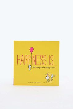 Livre « Happiness Is » - Urban Outfitters