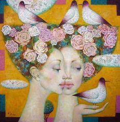 Paintings by Irina Kotova - ego-alterego.com