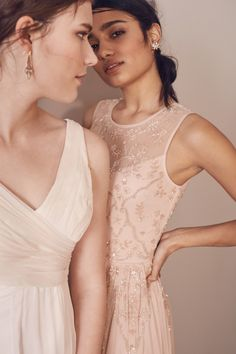 """Spring """"It"""" Colors for 2018 Featuring Dresses by BHLDN 