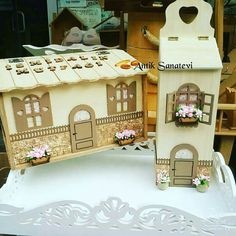 Tole Painting, Painting On Wood, House Windows, Diy Projects To Try, Diy And Crafts, Recycling, Erdem, Kids, Home Decor