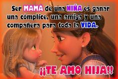Te amo hija!!