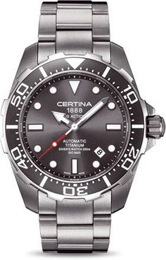 Certina Watch DS Action Divers Automatic #bezel-unidirectional…