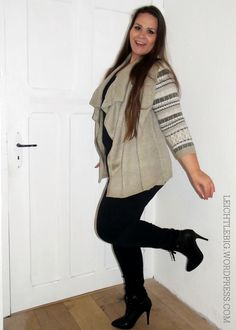 Plus Size styling // fall cardigan // curvy fashion