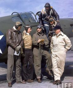 WW2 USAAF Pilots