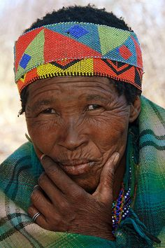 Africa | The San (Bushmen) are the oldest ethnic group in Namibia having inhabited Southern Africa for an estimated 20.000 years. Photo taken in  Namibia | © Rudi Roels