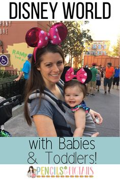Are you thinking of planning a trip to Disney World with babies or toddlers? I'm sharing my best tips for having fun with your children at Disney no matter what age they are! #disneyworldtips #disneyworldwithtoddlers #disneytoddlertips #disneyworld #toddlerfun