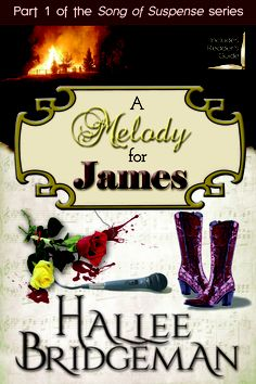 A Melody for James by Hallee Bridgeman: Melody and James lead separate lives of discord until an unexpected meeting brings them to a sinister realization. Unbeknownst to them, dark forces have directed their lives from the shadows, orchestrating movements that keep them in disharmony. Fire, loss, and bloodshed can't shake their faith in God to see them through as they face a percussive climax that will leave lives forever changed.