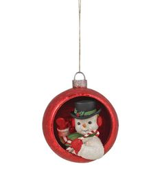 Ornamental Snowman Ornament from The Holiday Barn